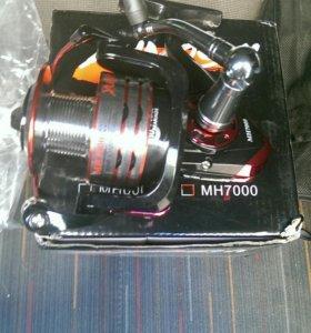 Продам рыболовную катушку yumoshi MH 7000
