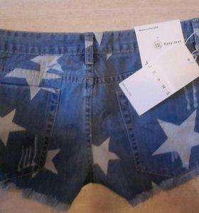 Шорты женские джинсовые новые