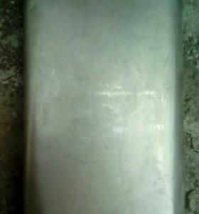 Фляга металл большая