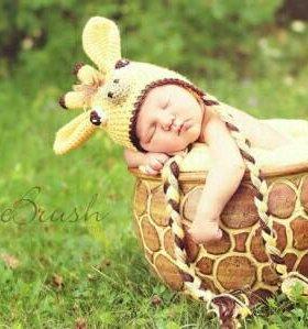 """Мешочек для новорожденных """"Жирафик"""""""