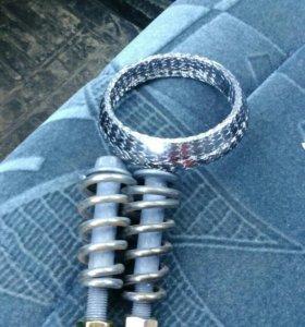 Графитовое кольцо с болтами. на ваз