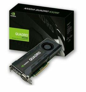Видеокарта nvidia quadro k5200