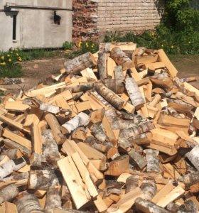 Колотые берёзовые дрова
