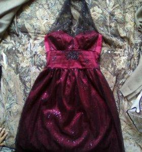 Платье вечернее на выпускной р.42-44
