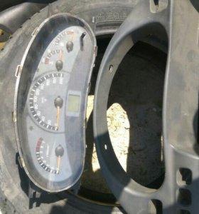 Руль, панель приборов,обшивка  под пищалки