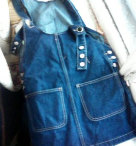 Продаю сарафан джинсовый.. Покупали за 500 продаю