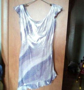 Платье мини-ассиметрия