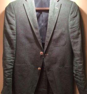 Льняной пиджак (блейзер) Windsor knot