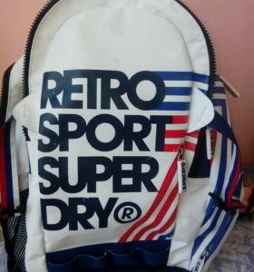 Superdry retro backpack