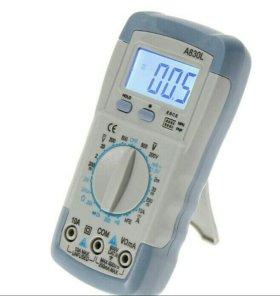 Тестер ( мультиметр ) A 830 L Новый.