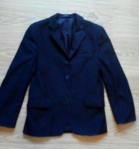 Школьный пиджак, темносиний.