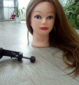 Голова манекена для парикмахера