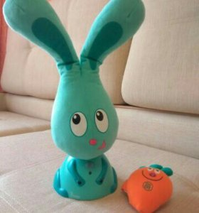 Интерактивная игрушка заяц Бани 1 200руб