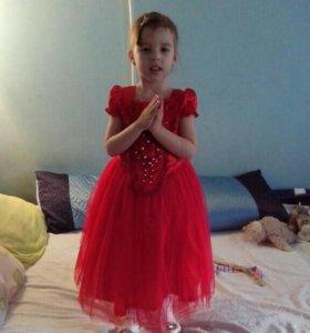 Бальное платье 4-5