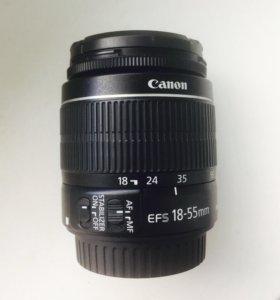 Объектив Canon EF-S 18-55 IS II