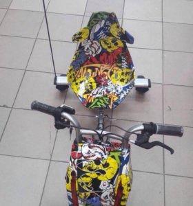 Новый детский электро мотоцикл