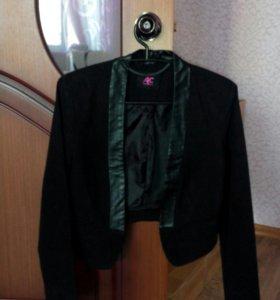 Пиджак- болеро, юбка