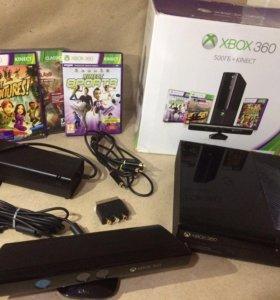 Xbox 360 E 500gb Kinect