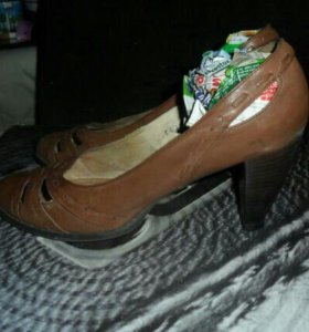 Туфли кожа б.у.