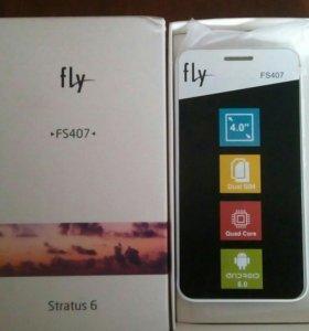 Телефон fly fs407, stratus6