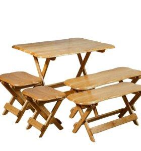 Комплект складной дуб мебели (большой)