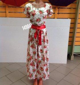 Платье, шифон