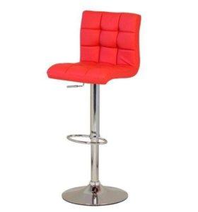 Барные стулья красные