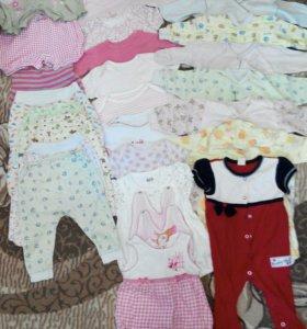 Детские вещи пакетом 56-62