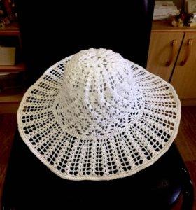 Красивые вязаные шляпы.
