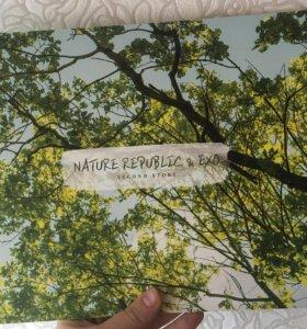 Фотобук k-pop группы EXO nature republic
