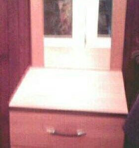 Тумба и зеркало
