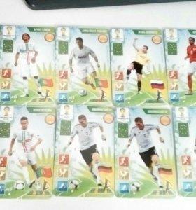 Карточки Мортал Комбат и футбол