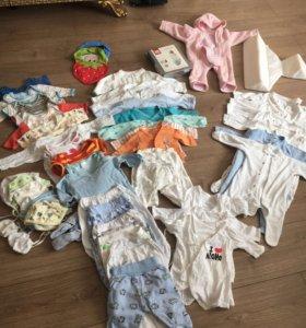 Пакет одежды для малыша с рождения