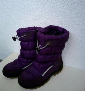 Зимние дутики сапоги