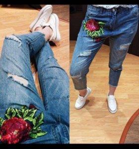 Новые джинсы xs-s