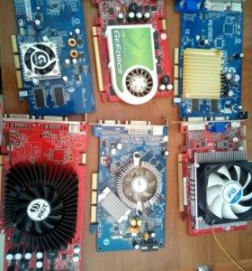 Видеокарты PCI-E и AGP
