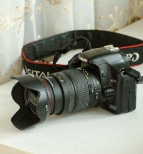 Canon EOS 450D + Sigma AF 18-200mm F3.5-6.3 DC