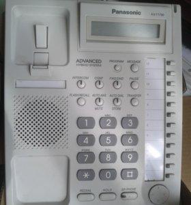Системный НОВЫЙ телефон Panasonik KX-T7730