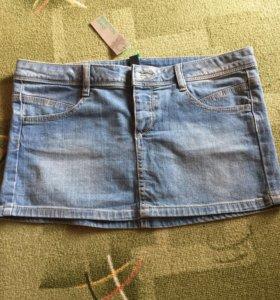 Юбка джинсовая Benetton новая