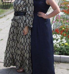 Темно-синее платье befree