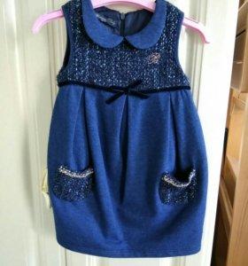 Платье Blumarine baby jeans (original)