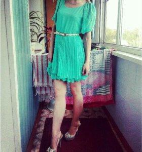 Комплект платье, туфли, клатч