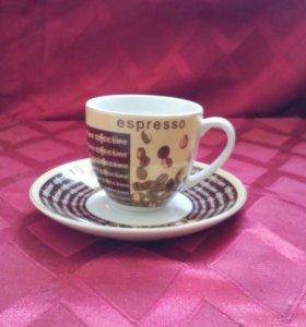 Чашка и  блюдце ( кофейные пары)