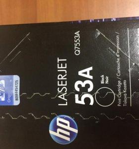 Новый картридж HP 53A