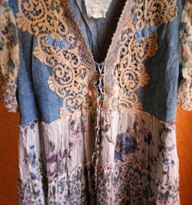 Платье шифоновое. Италия