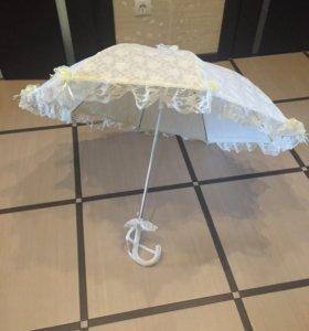 Зонтик свадебный.