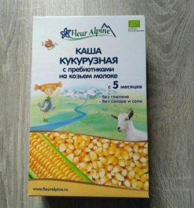 Кукурузная молочная каша Fleur Alpin
