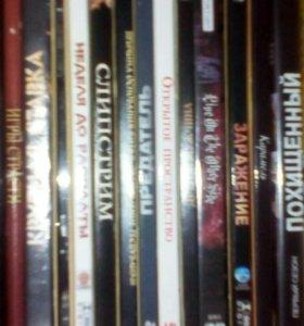 Dvd кассеты.