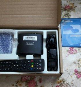 Оборудование для подключения интернет ТВ