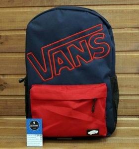 Рюкзак Vans, синий с красным